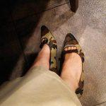 ストロベリーフィールズのカモフラ靴