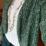 グリーンのコーディネート 今日の服