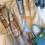 【お知らせ】DRESS WEBサイト コラム掲載25 カシミアストールで防寒コーデ!