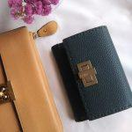 ロングタイトスカートのコーデと新しいお財布