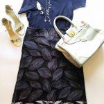 DRESS 明日何着ていこう!⑩ Tシャツとスカートのコーデ