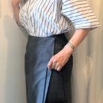 50代 真夏の仕事着 ブラウス一枚できちんと見せるには